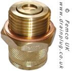 Large Standard Drain Plug with Small Thread